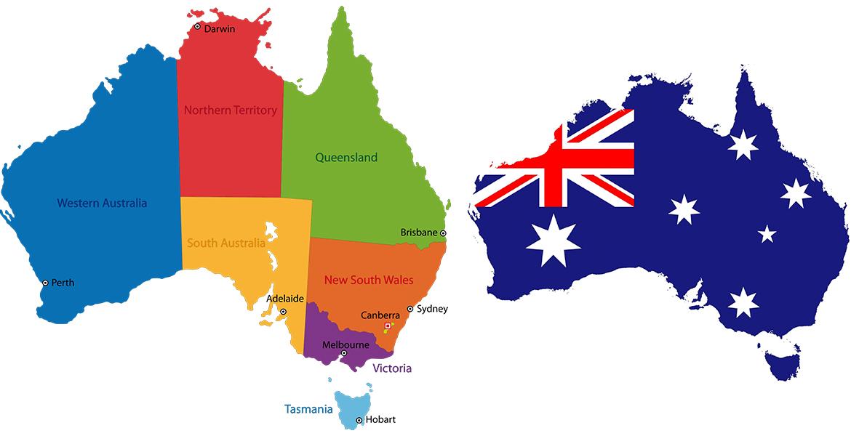 اطلاعات سیاسی و جغرافی استرالیا
