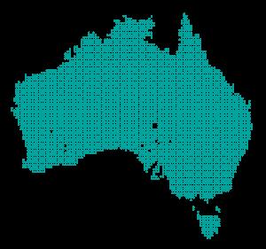 نقشه استرالیا - مهاجرت پلاس